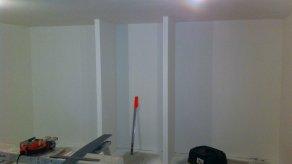 AMENAGEMENT DE COMBLES, DE SOUS-SOL :  Isolation des murs, Placo-plâtre, cloison, plafond, faux plafond...
